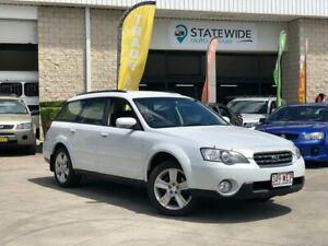 2005 Subaru Outback B4A MY06 Premium Pack D/Range AWD White 5 Speed Manual Wagon