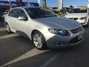 2012 Ford Falcon FG MkII G6 Limited Edition EcoBoost Silver 6 Speed Sports Automatic Sedan Maryborough Fraser Coast Preview
