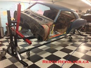 Canadian Made Classic Car Rotisserie And Body Carts.