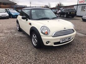 2007 MINI Hatch 1.6 Cooper 3dr FSH+LONG MOT+3 MONTH WARRANTY