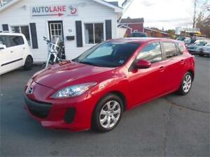 2012 Mazda 3 GX, $0 down, only $83 bi-weekly!