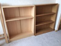 Two x Ikea Type Small Bookcases