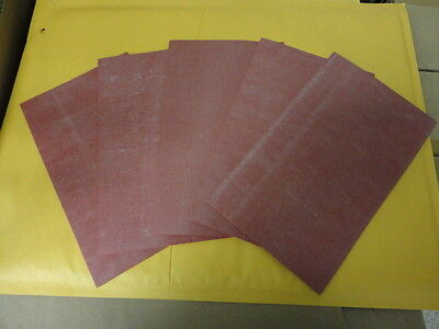 Silicone Rubber Sheets 6 X 10 X .125