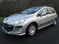 Peugeot 308 SW S HDi Estate DIESEL MANUAL 2008/58
