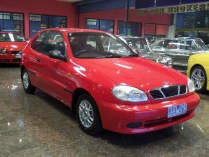 2002 Daewoo Lanos SE Red 5 Speed Manual Hatchback South Melbourne Port Phillip Preview