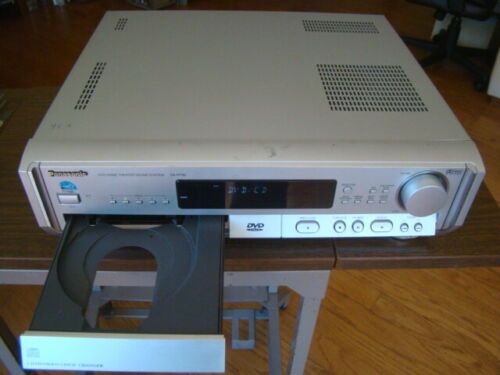 Panasonic SA-HT80 5 Disc DVD/CD Changer Home Theater Receiver Tested Working