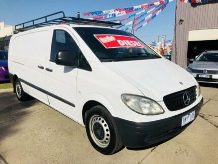 2006 Mercedes-Benz Vito 109CDI Extra Long White 6 Speed Manual Van Brooklyn Brimbank Area Preview