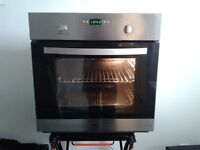 stainless steel whirlpool built in fan oven excellent condition £99 or £149 fitted!!