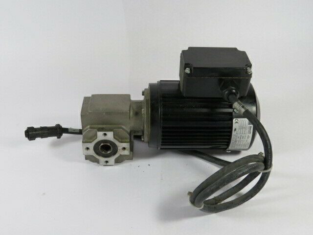 Rexroth 0.210kW 1700RPM 575V .53A 60Hz C/W Gear Reducer 30:1 Ratio  USED
