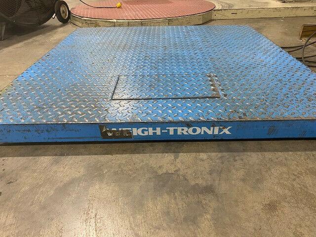 Weigh Tronix DSL4848-05 48 x 48 Platform Scale w/ Display 5000 Lb/10 Lb Counting