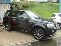 2013 Land Rover Freelander 2 2.2 SD4 Dynamic 4X4 5dr Auto SUV Diesel Automatic