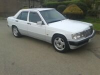 MERCEDES 190E 5 SPEED MODERN CLASSIC