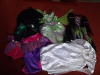Job Lot of Girl's Dressing Up / Fancy Dress Costumes