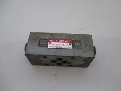Toyo-oki Hk3h-w-q1-025b-109 Hydraulic Valve