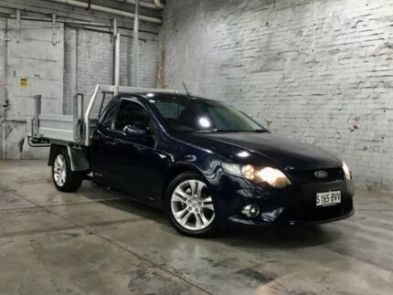 2011 Ford Falcon FG XR6 Super Cab Blue 6 Speed Sports Automatic Cab Chassis Mile End South West Torrens Area Preview