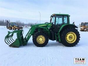 2008 John Deere 7430 Premium MFWD Loader Tractor