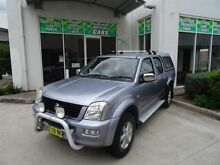 2003 Holden Rodeo RA LT (4x4) Grey 5 Speed Manual Crewcab Claremont Meadows Penrith Area Preview