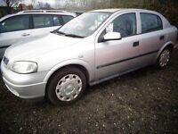 2002 Vauxhall Astra 64,000 Miles 1 Year MOT £595