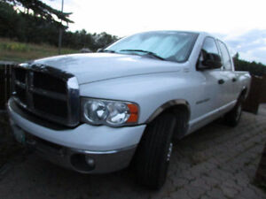 2004 Diesel Dodge Power Ram 2500 chrome Pickup Truck with hitch
