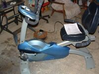 Exercise bike recumbent