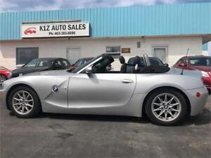 2005 BMW Z4 2.5i -LOW KM/CONVERTIBLE/3MTH WARRANTY INCLUDED
