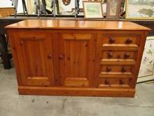 B50023 Terrific Solid Baltic Pine Sideboard Kitchen Dresser Unley Unley Area Preview