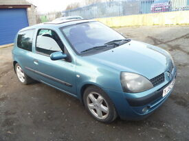 RENAULT CLIO LONG MOT........... NEEDS A CLUTCH PEDAL CABLE CLUTCH IS IN WORKING ORDER