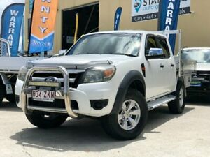 2011 Ford Ranger PK XL (4x4) White 5 Speed Automatic Dual Cab Pick-up East Brisbane Brisbane South East Preview