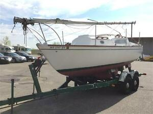 23' Irwin Sailboat with Trailer