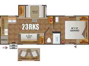 2016 Creek Side 23RKS **Identical to a 2017 but w/2016 Price**
