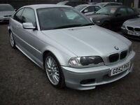 BMW 3 SERIES 3.0 330CI SPORT E46 2d AUTO 228 BHP (silver) 2002