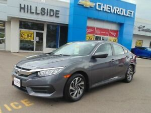 2016 Honda Civic Sedan EX *SUNROOF|ALLOYS|BACKUP CAMERA*