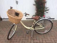 Ladies vintage style bike