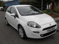 FIAT PUNTO 1.2 EASY 3d 69 BHP 1 OWNER FROM NEW (white) 2012