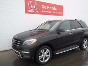 2013 Mercedes-Benz M-Class ML350 DIESEL, AC, LEATHER, AWD