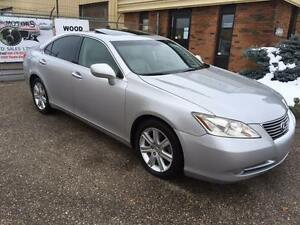 2007 Lexus ES 350 3.5L V6 LEATHER\ POWER\ MEMORY\ SUNROOF
