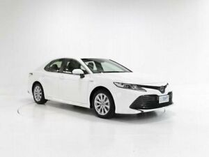 2019 Toyota Camry AXVH71R Ascent White 6 Speed Constant Variable Sedan Hybrid Cooee Burnie Area Preview