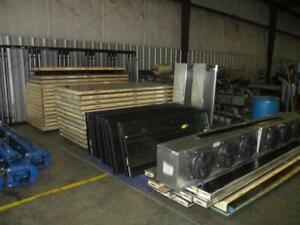 18 GLASS DOOR WALK IN COOLER - 47' X 8' X 10' BOX AND MECHANICAL
