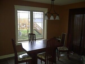 duplex all hardwood floors, large kitchen with island - december