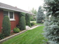 All Brick And Plaster Bungalow/Garage/Grantham and niagara area