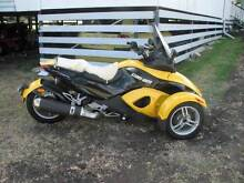 2009 Can Am Spyder RS semi auto SE-5 Kingsthorpe Toowoomba Surrounds Preview