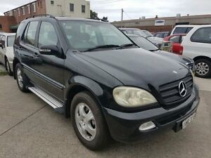 2002 Mercedes-Benz ML W163 320 (4x4) Black 5 Speed Auto Tipshift Wagon Georgetown Newcastle Area Preview