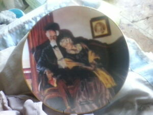 Knowles Plate Collection -- Norman Rockwell