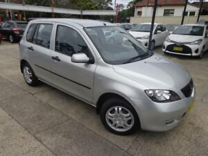 2004 Mazda 2 DY Neo Silver 5 Speed Manual Hatchback Sylvania Sutherland Area Preview