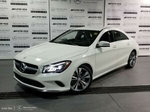 2018 Mercedes Benz CLA 4MATIC Coupe