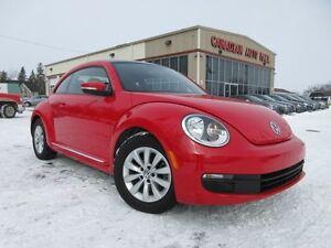 2014 Volkswagen Beetle  COMFORTLINE, ROOF, HTD. SEATS, 37K!