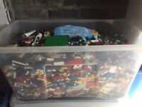 Lego Job Lot (34 KG) & Lego Storage