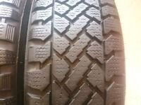 4 pneus d hiver 205-55-16marque snowtraker made in chili