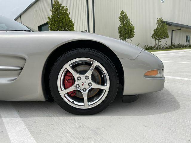 2002 PEWTER MATALIC Chevrolet Corvette Convertible    C5 Corvette Photo 9