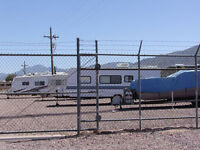 CHEAP SECURED STORAGE, MOTOR HOMES,FOOD TRUCKS, BOATS & ETC